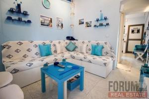 Chalkidiki Nea Fokaia for sale, seafront 35 sqm apartment